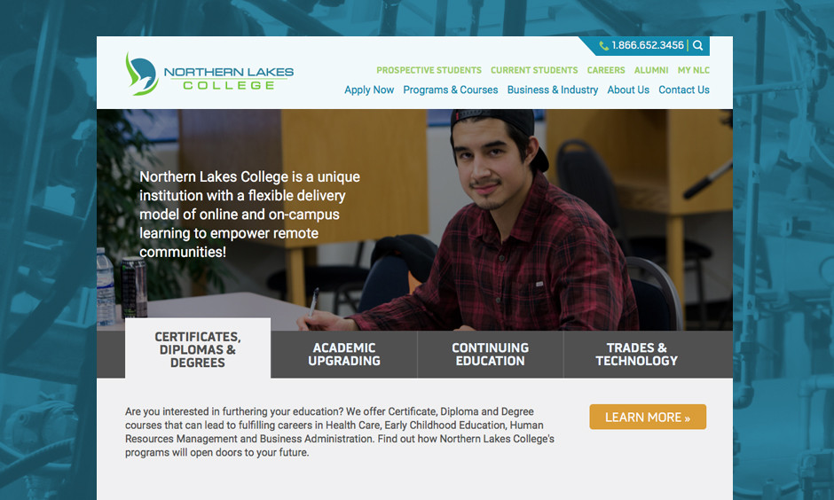 Web Design & Development for Collages and Universities