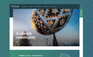 Vegreville Municipal Website Design
