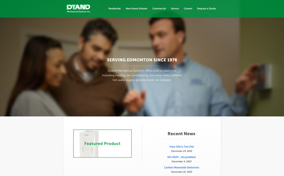 Dyand Mechanical Systems - Launched October 2013