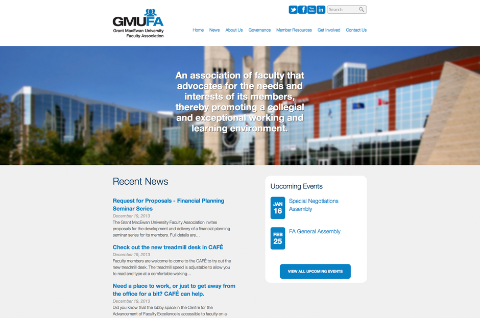 GMUFA - Launched October 2013