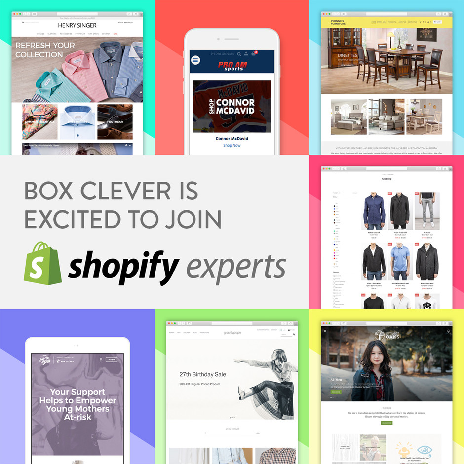 Ecommerce Web Design Agency & Shopify Expert