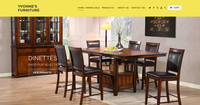 Yvonnes Furniture website designed by Box Clever in Edmonton, Alberta.